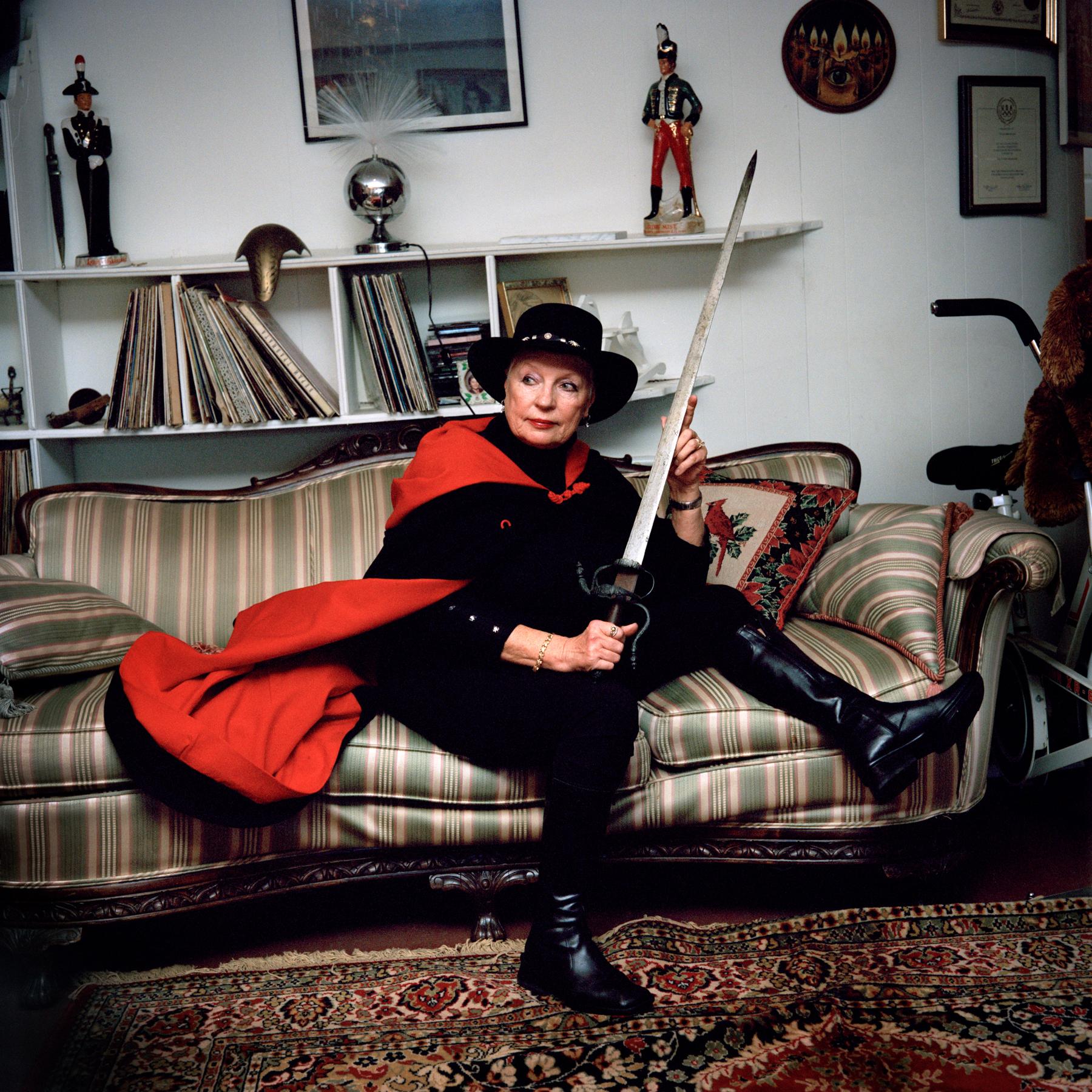 Tanya Adamovich, Olympic Fencer