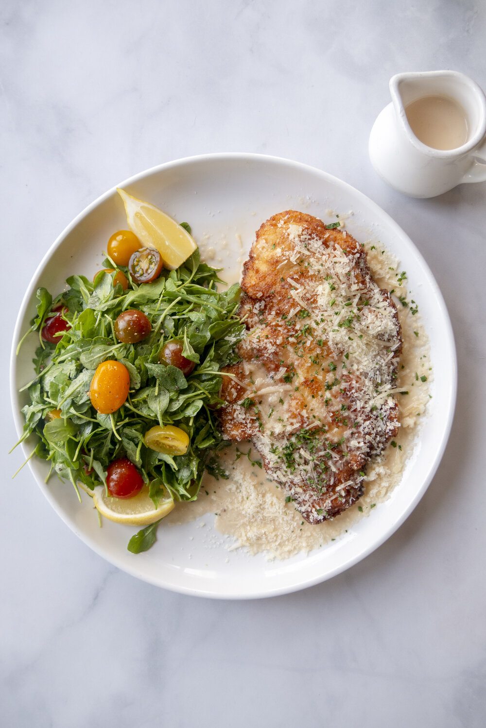Chicken Paillard For Two Balboa Cafe San Francisco