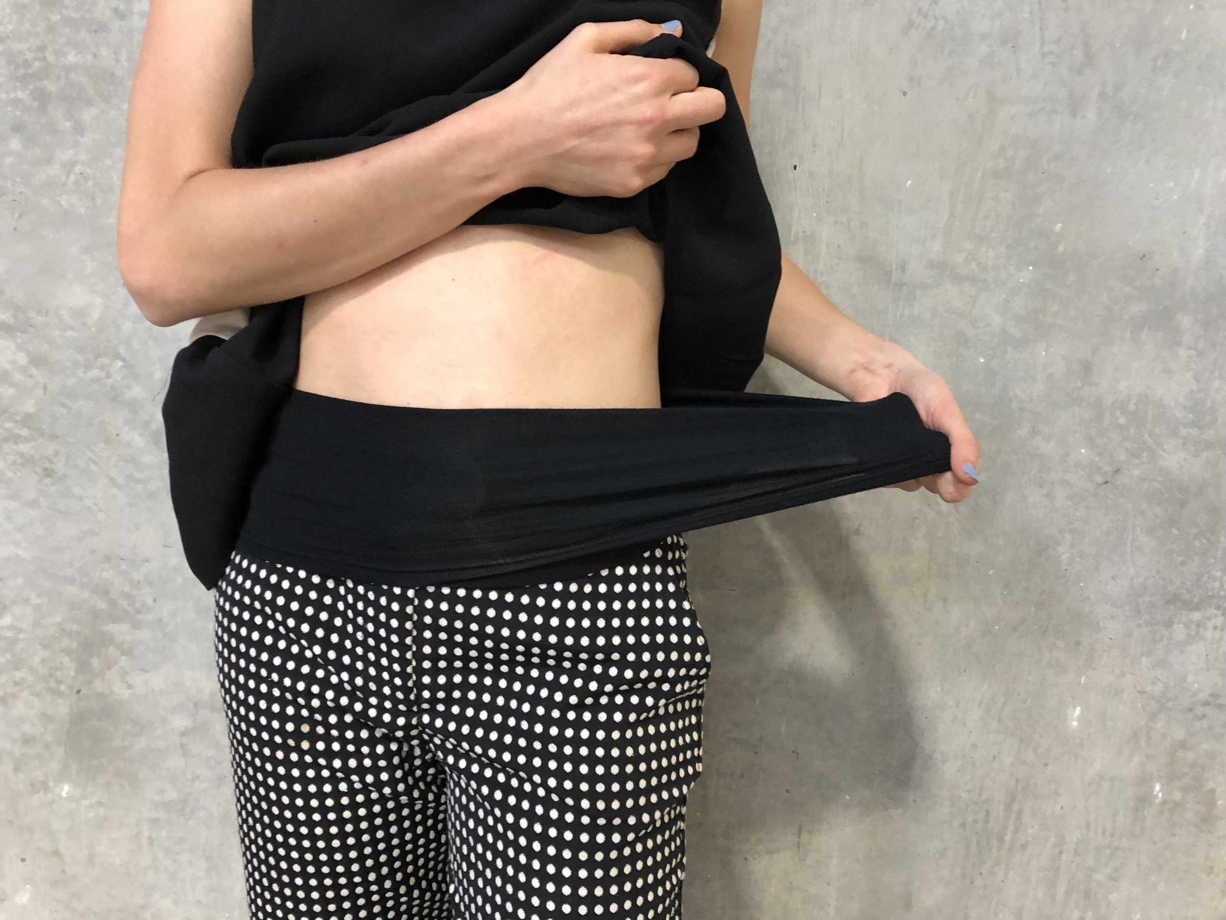 COMFORTABLE AND STRETCHY WAISTBAND