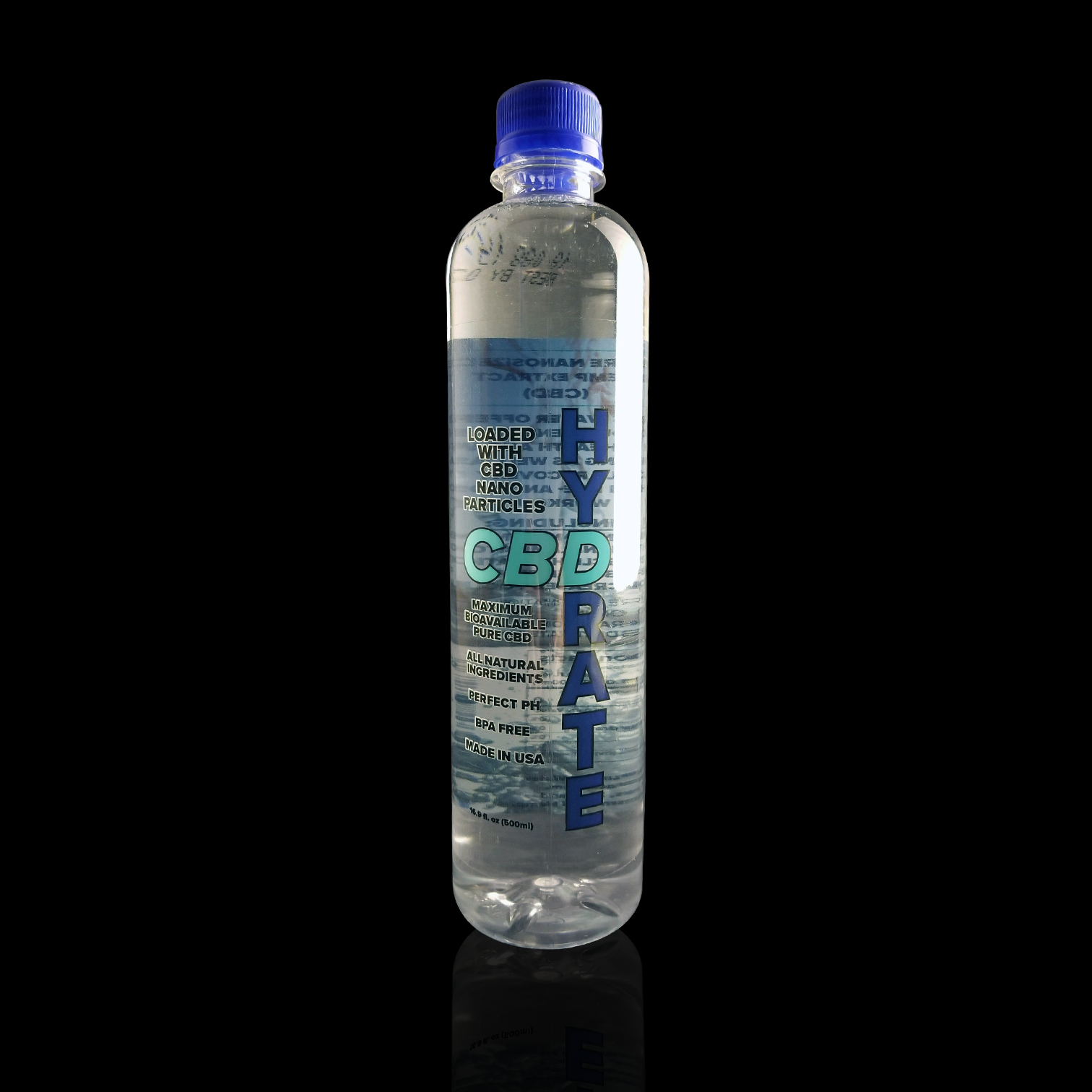 CBD HYDRATE  – CBD Infused Water   Suggested retail  - $5 each
