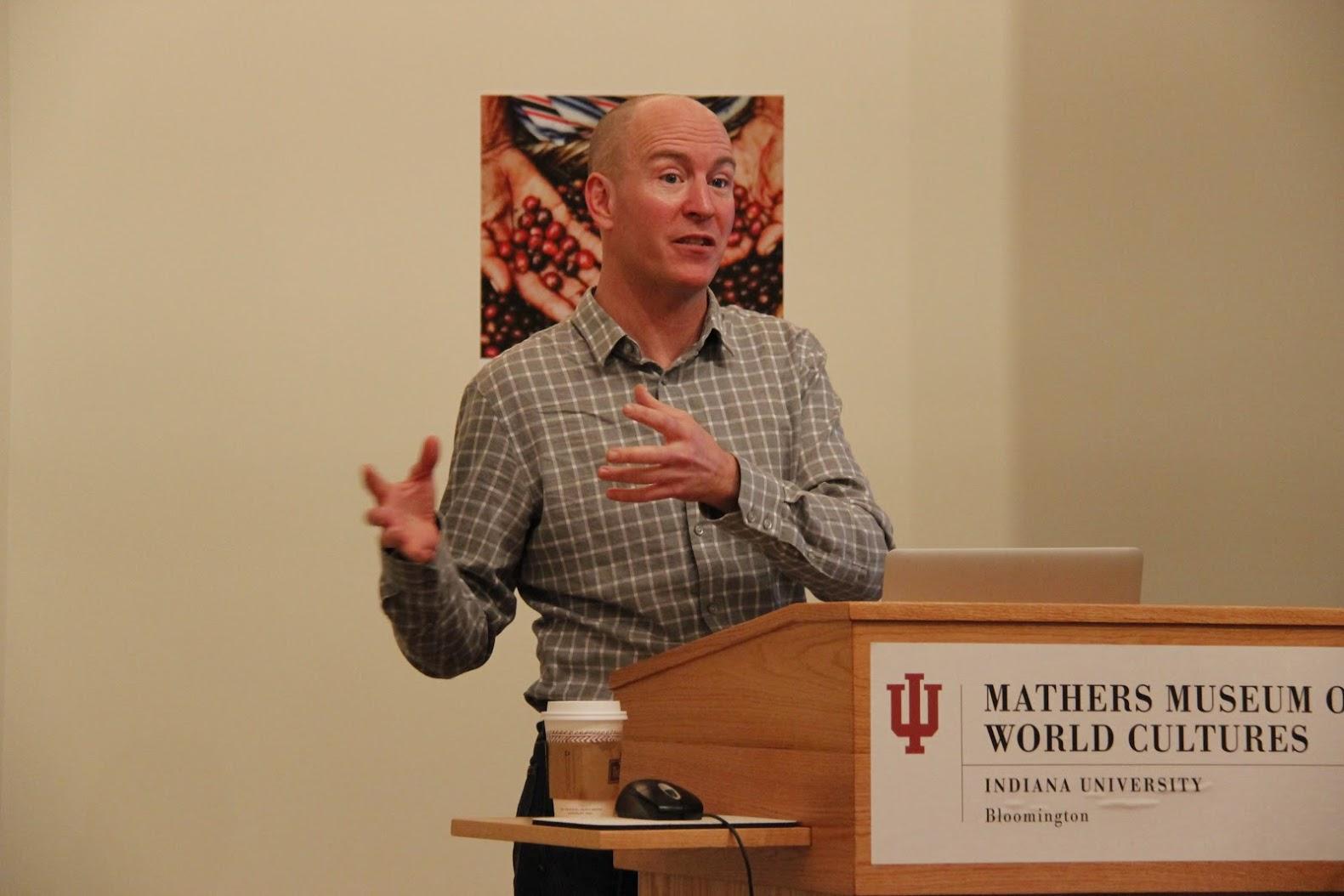 Adam Taub Lecture Presentation Mathers Museum of World Cultures IU