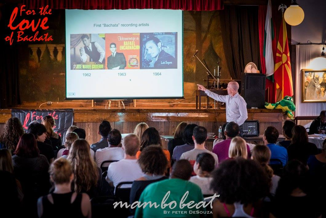 Adam Taub Bachata History and Culture presentation