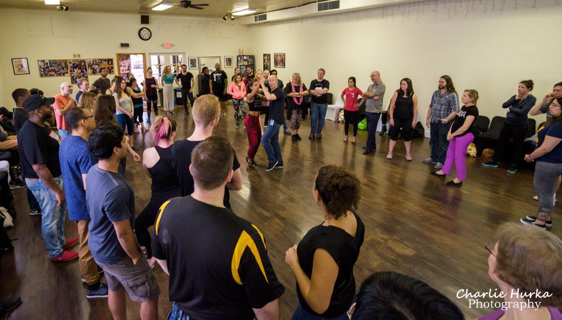 Adam Taub Bachata Dance Workshop