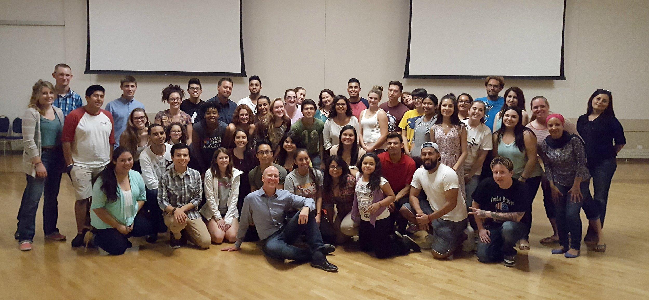 UNC University Bachata Dance Workshop