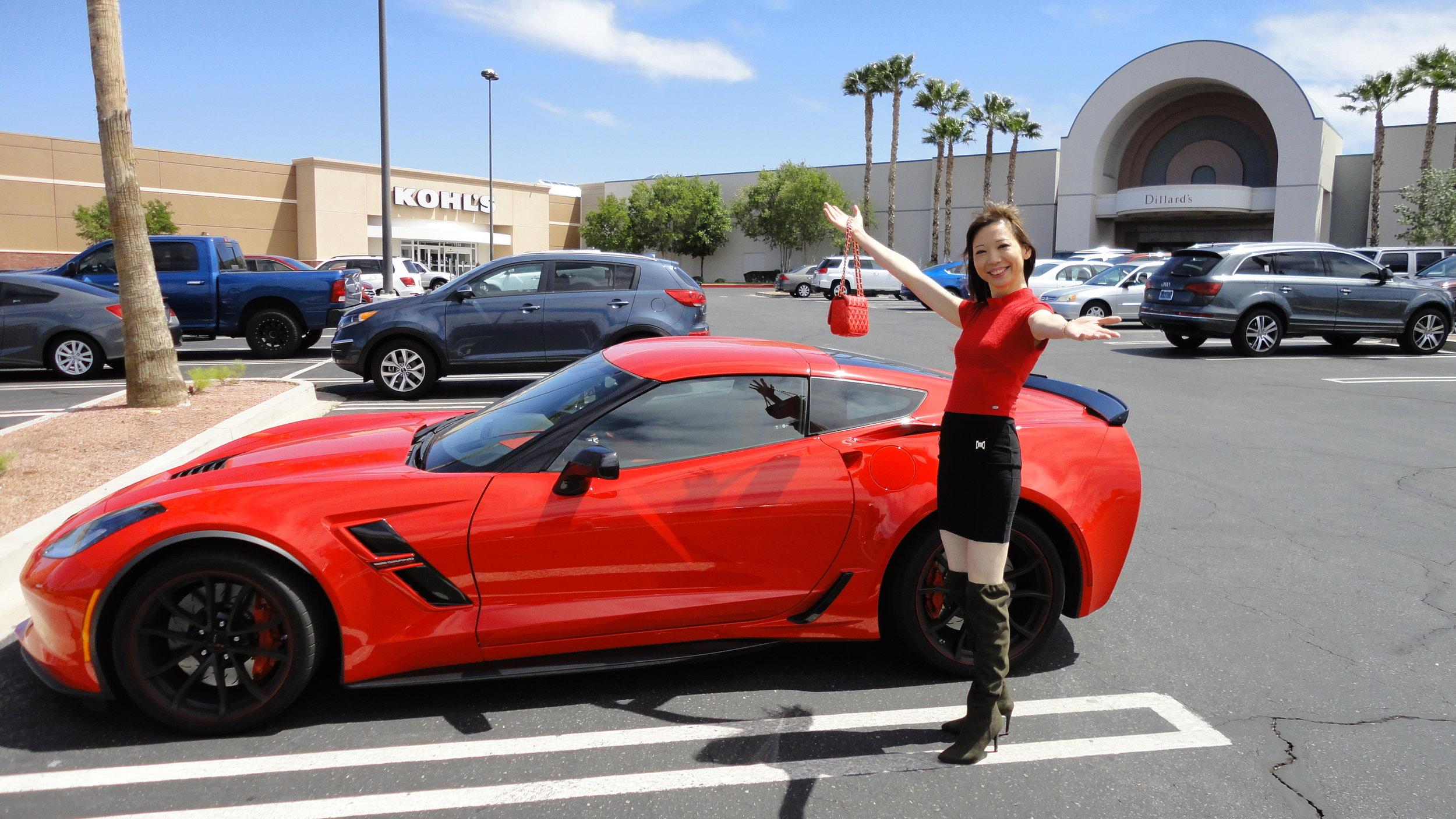 Corvette Grand Sport with Andrea Cheng