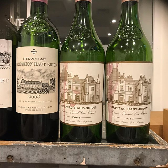 Had an amazing time on Saturday @lepontwinestoresydney serving canapes to match the amazing wines they had on show #chateauhautbrion #2015 @francaboutwine