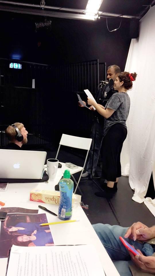 Sound Designer Amund Ulvestad with Shammi and I