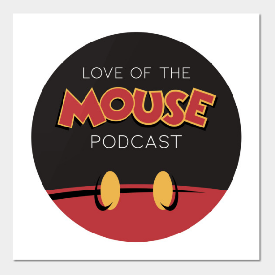 """Love of the Mouse Podcast 9""""x9"""" Wall Art ($10)"""