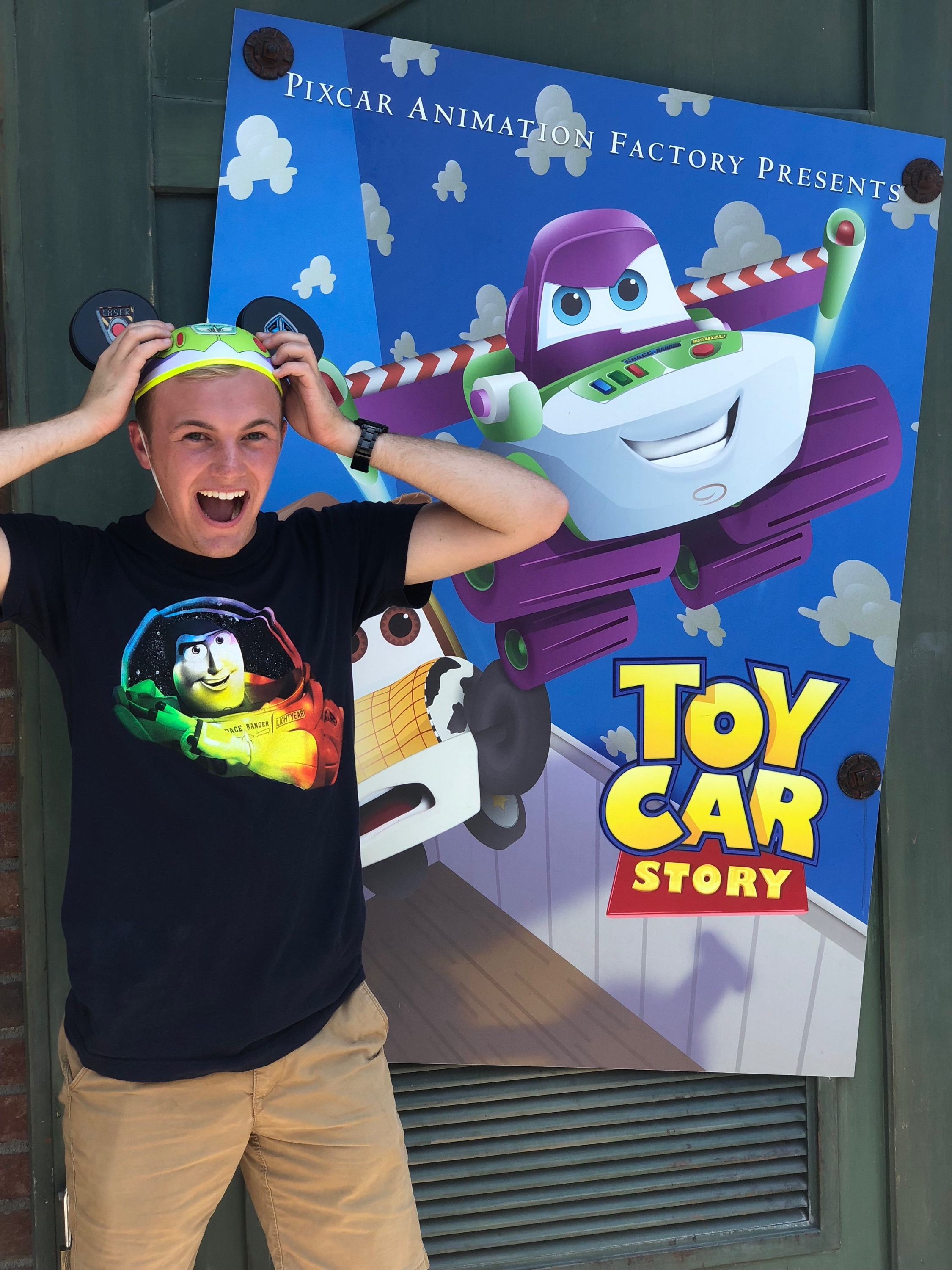 Gage was able to experience the very first week of Pixar Fest at Disney's California Adventure.