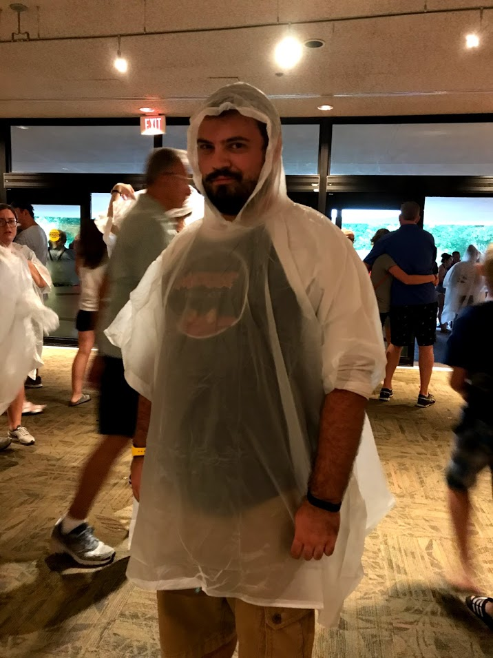 *Disclaimer: I realized after recording that I forgot to mention my   absolute hatred   for Disney Poncho people, so it is only fair that I share a picture of when I fell victim to the cult.