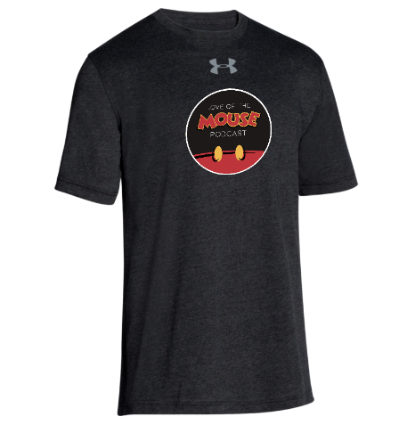 Love of the Mouse Podcast UA Stadium Tee SS ($29.95)
