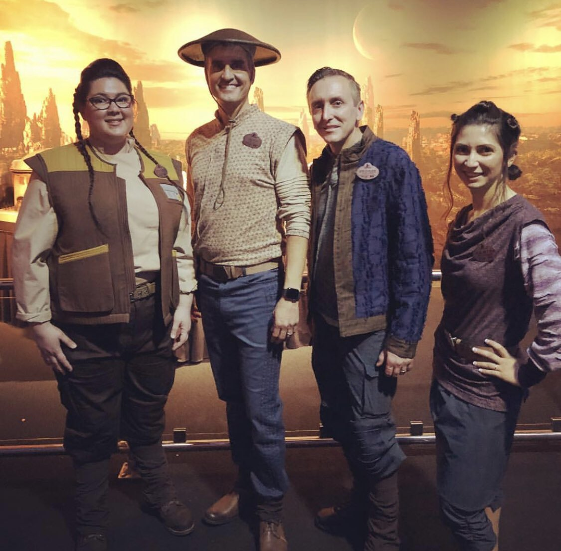 Galaxy's Edge Cast Member Costumes (Photo Credit: @DisneyExaminer on Twitter)
