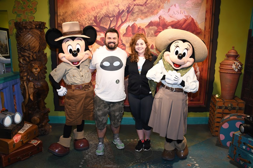 Mickey & Minnie Meet & Greet, Animal Kingdom (2019)