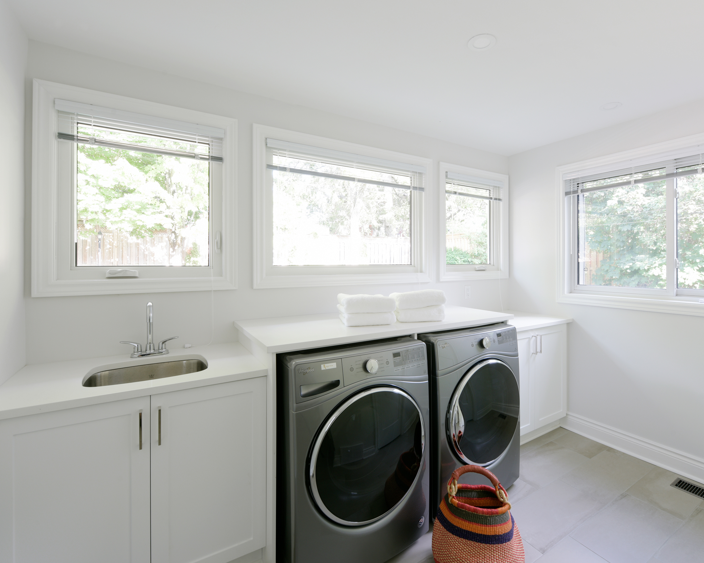 Renovating Design - Thinking of renovating a basement, laundry room or another space in your home? Contact us to discuss how we can help.