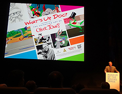 What's Up, Doc? The Animation Art of Chuck Jones, Museum of the Moving Image, New York, NY, 2014 (in conjunction with Smithsonian Traveling Exhibit Services, the Academy of Motion Picture Arts & Sciences, and Chuck Jones Museum)
