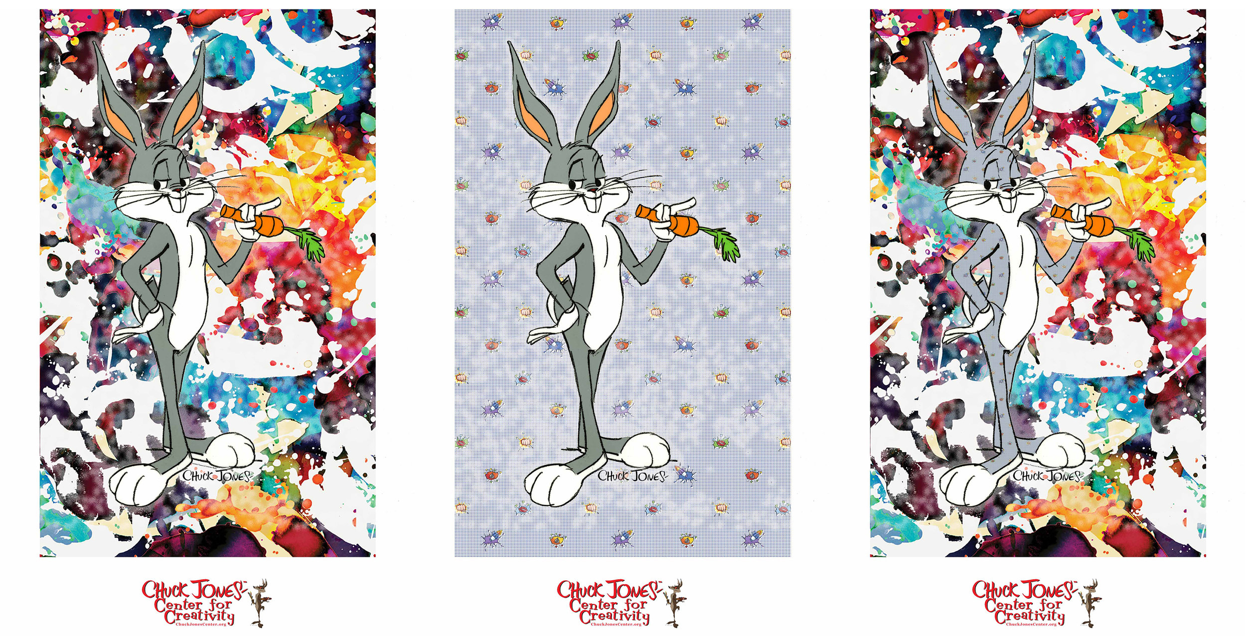 Your choice of one of these three Bugs Bunny fine art prints when you participate in this workshop.