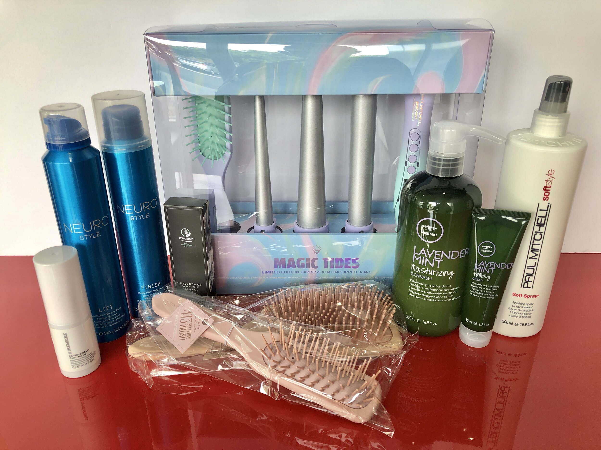 Paul Mitchell gift package.JPG