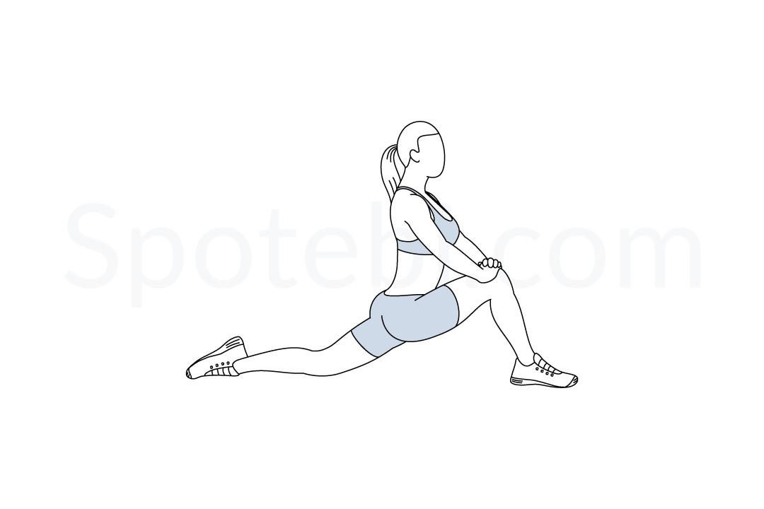 2. Hip Flexor Stretch -