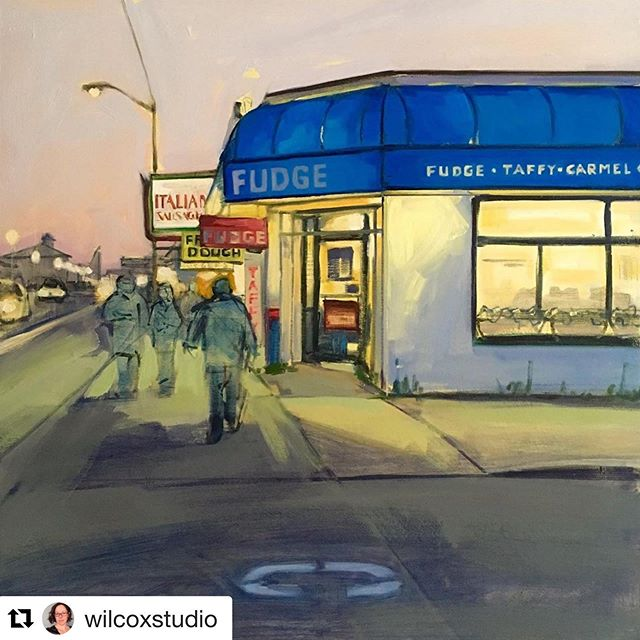 "🙌🏻 awesome! #Repost @wilcoxstudio ・・・ Just finished...The Candy Corner | 24""x24"" 