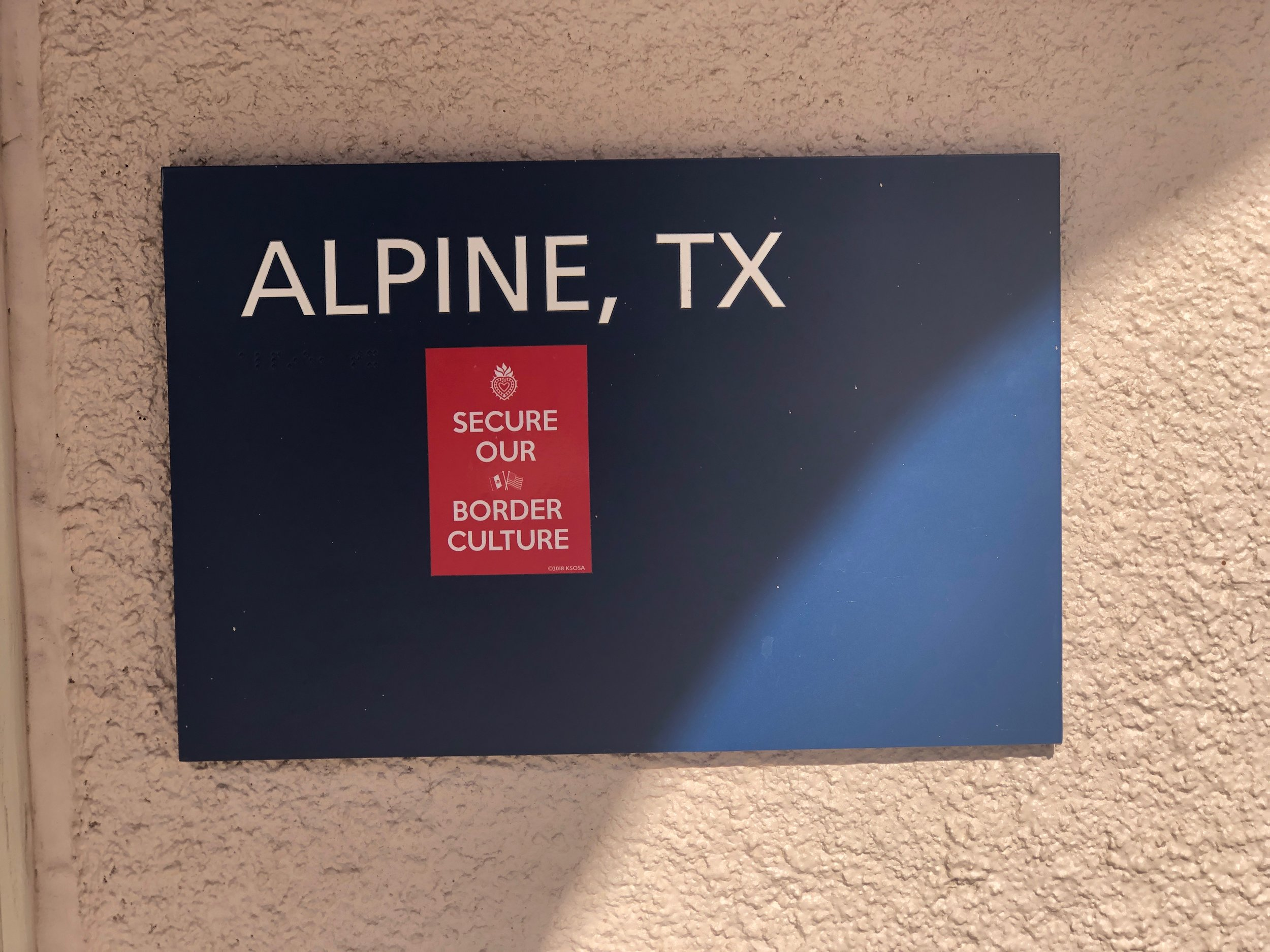 Alpine, Texas November 23, 2018 Photo by KSosa