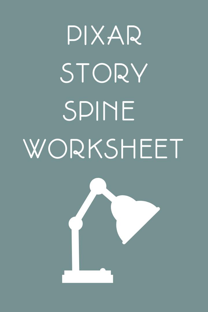 Pixar Story Spine Worksheet