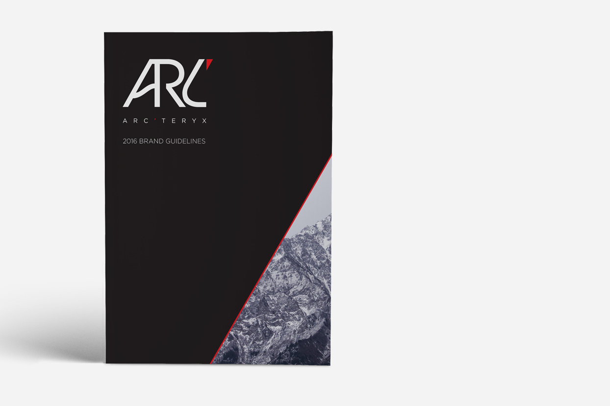 3.ARC'TERYX - Brand book and guidlines