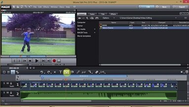 video editing software used by works perfect to edit and convert the video footage to digital and DVD