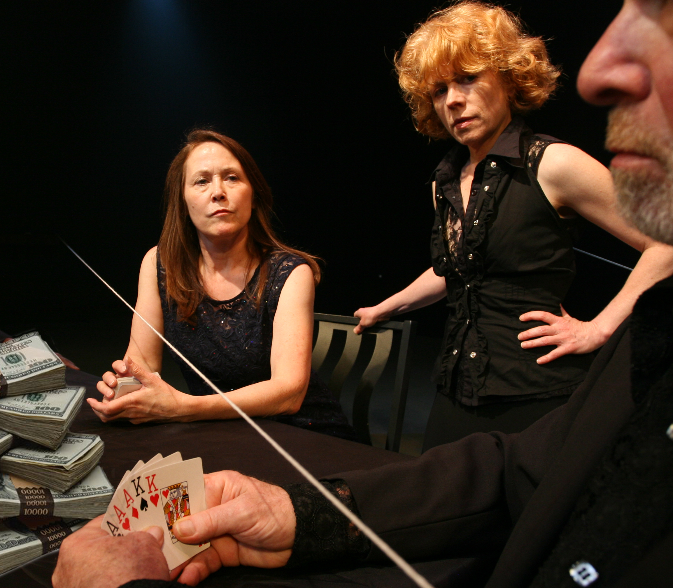 """Zugzwang Directed by Gerry Mouawad as part of his """"Opera Beyond Words."""" With Carol Triffle and Gregg Bielemeier."""
