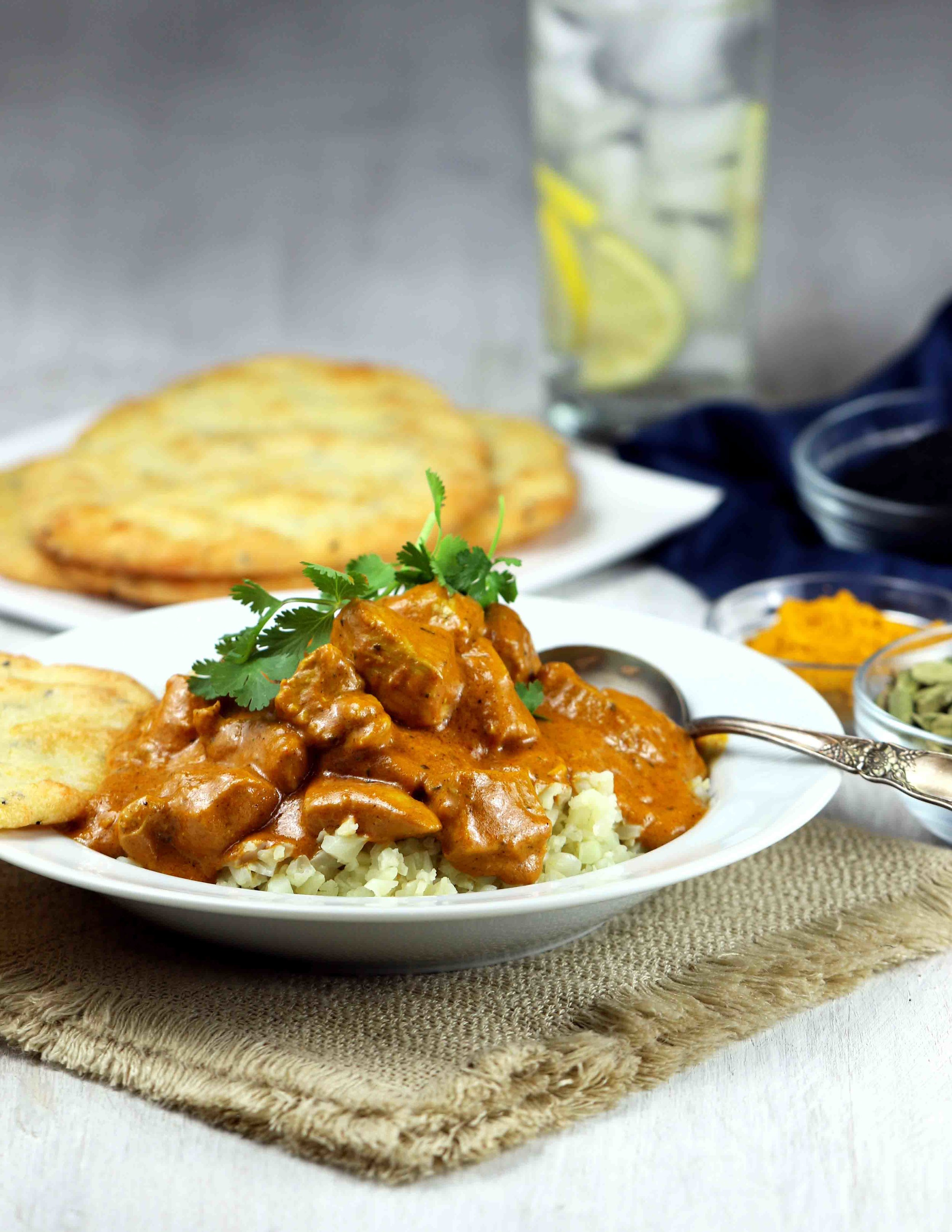 COCONUT BUTTER CHICKEN CURRY
