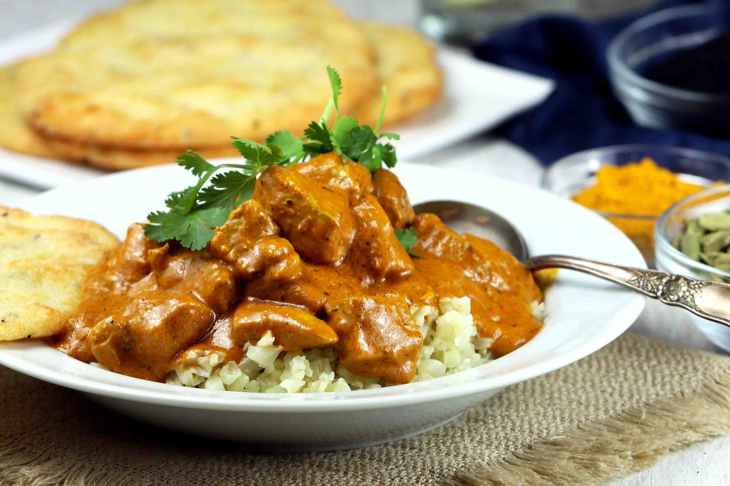 Low Carb Indian Butter Chicken Curry The Food Bible