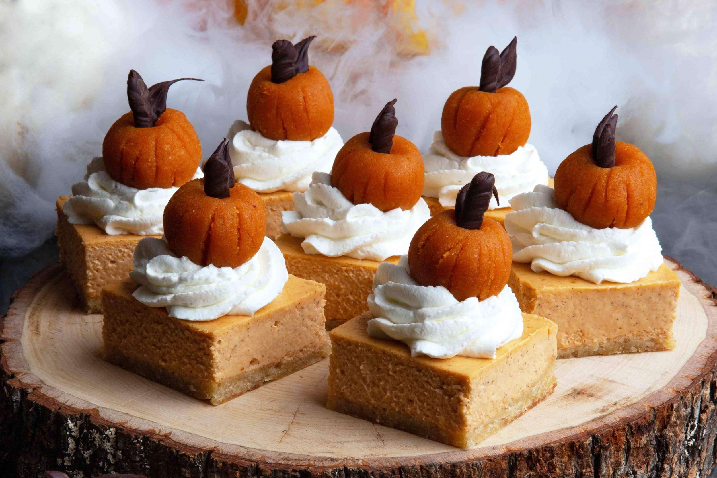 BEST LOW CARB KETO  HEALTHY HALLOWEEN RECIPE PUMPKIN CHEESECAKE BARS.jpg