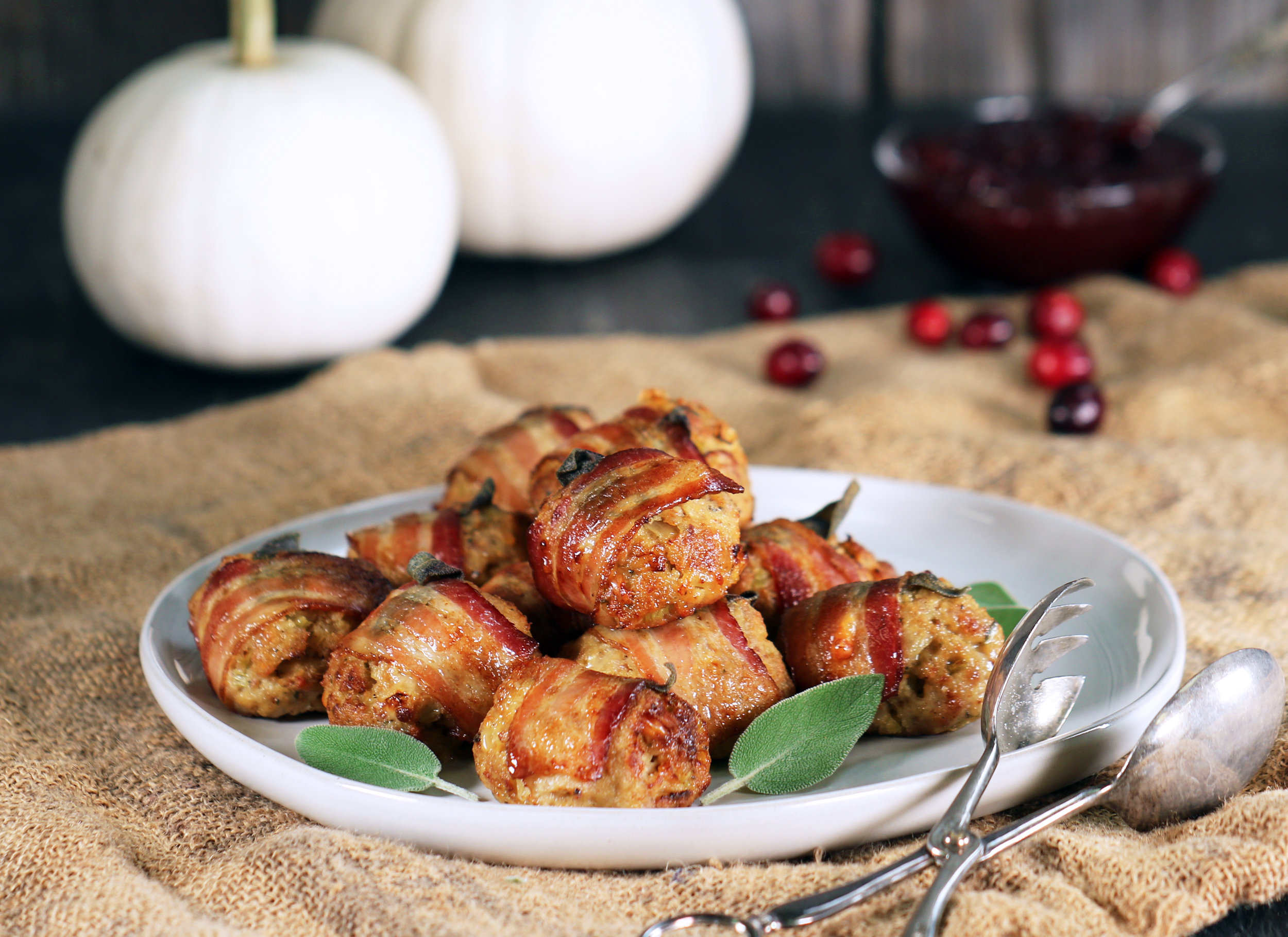 CRISPY BACON & SAGE STUFFING
