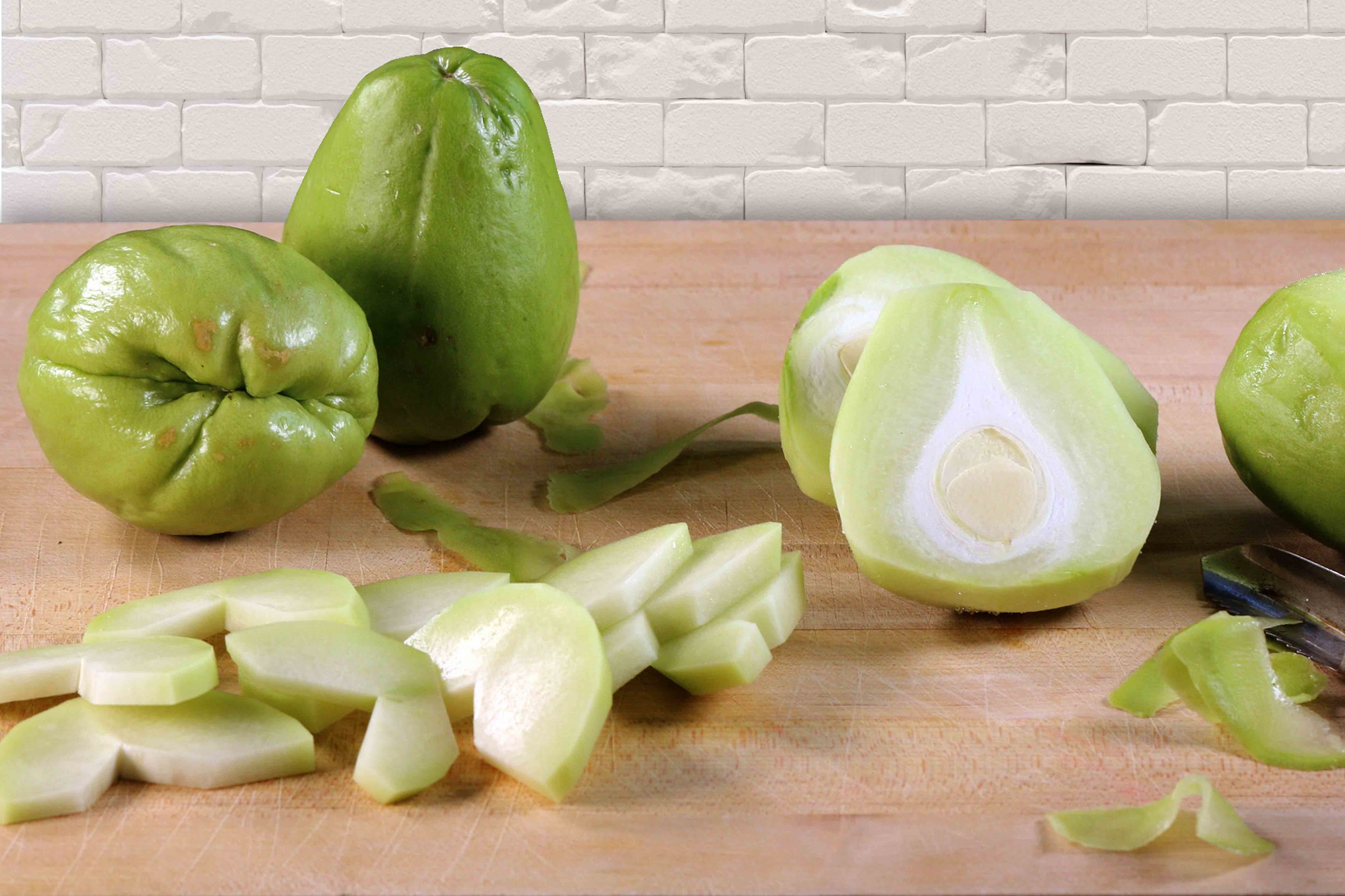 Chayote Squash, which is used in this recipe was actually used in Australia in the depression years after world war 2 as a substitute for apples which were in short supply, click on the image to learn more about chayote squash