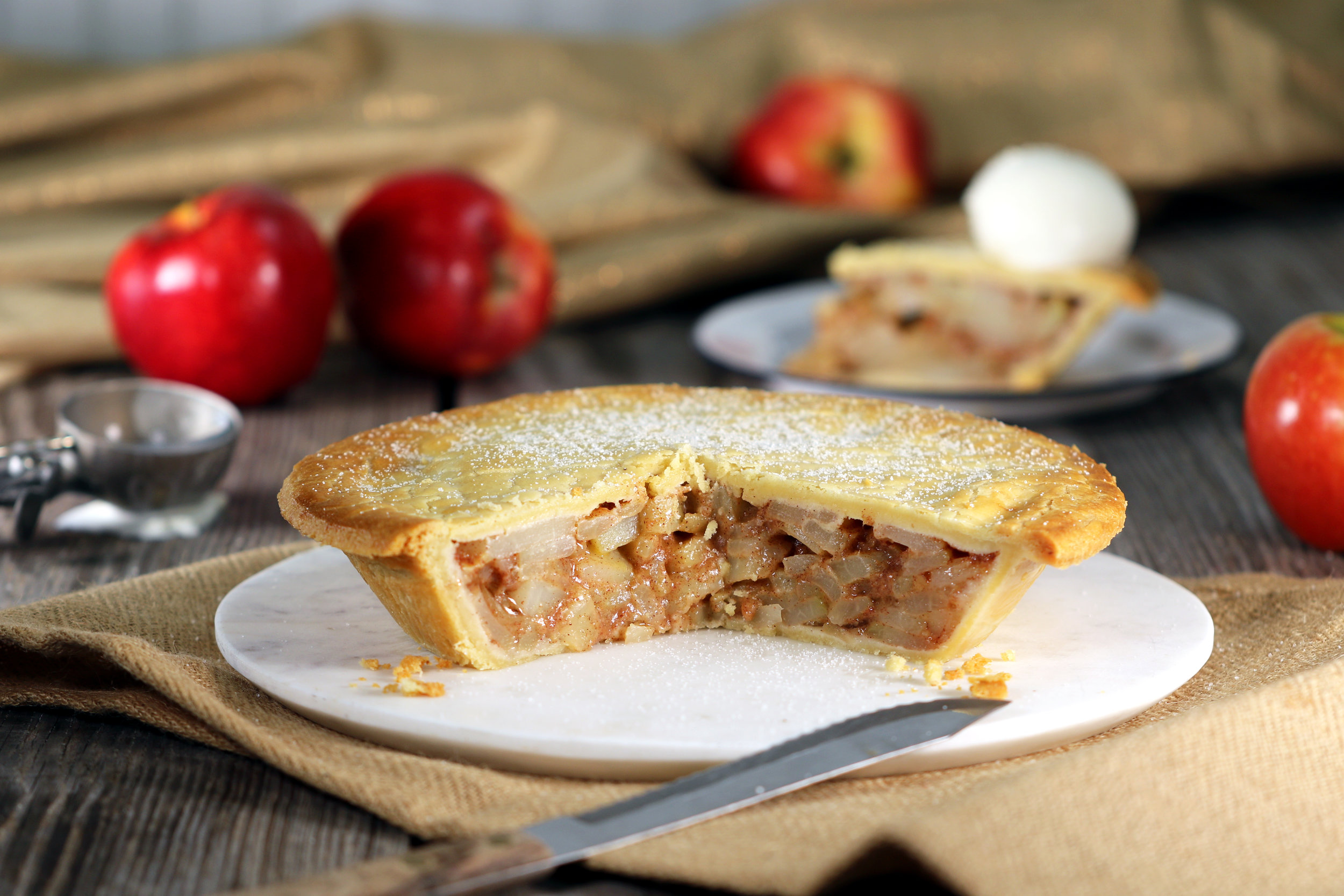 BEST LOW CARB KETO APPLE PIE RECIPE