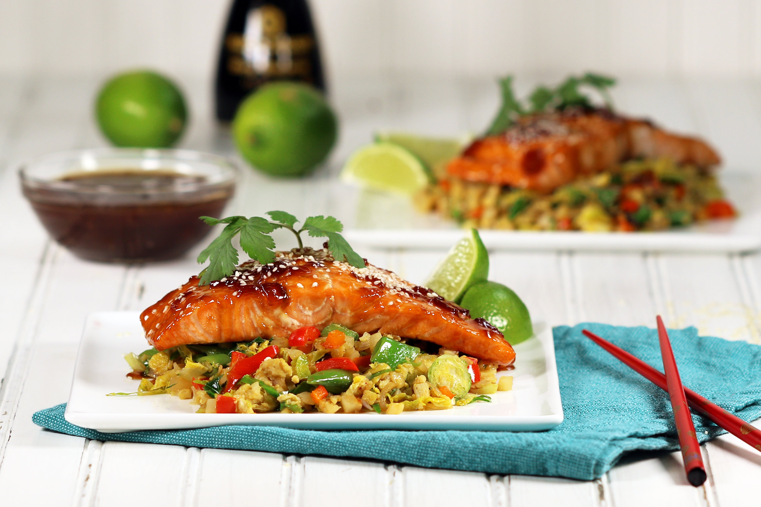 BEST LOW CARB KETO TERIYAKI GLAZED SALMON WITH CAULIFLOWER FRIED RICE.jpg