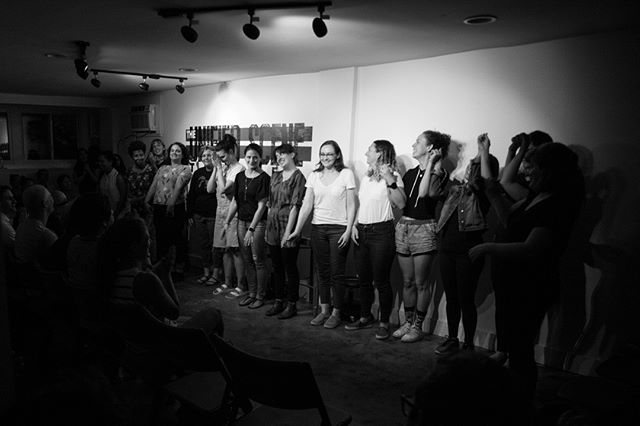 Thank you to The Unified Scene DC , The Rebelles, The Quitters, Maria Batdorff, Rachel Hinton, Too Many Lizzes, and our amazing audience for a perfect night of comedy and wiener fundraising. #improv #comedy #theater #washingtondc #womenincomedy #women