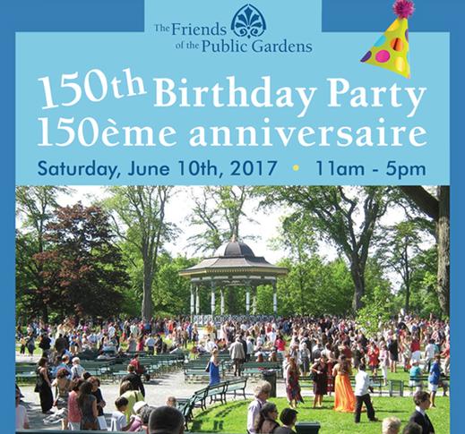 150th Birthday Bash