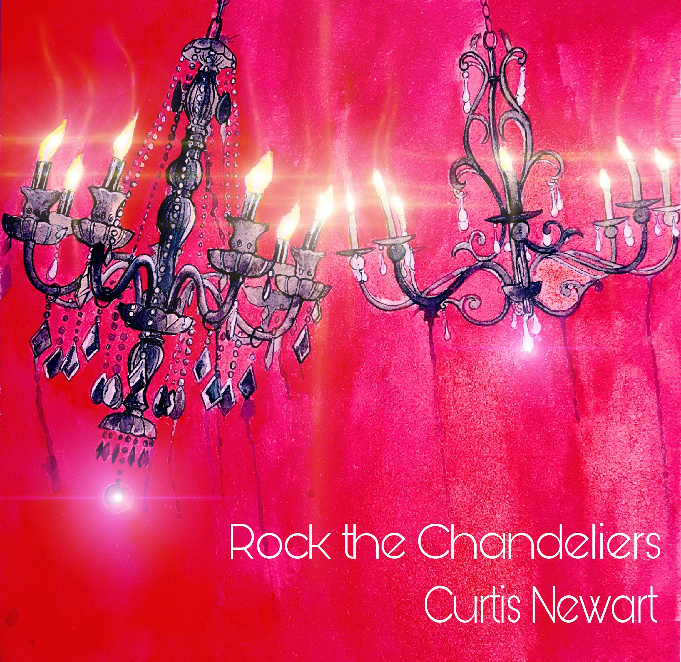 NEW WORK - Newart's new album, Rock the Chandeliers, is now available worldwide from Immaculate Records. With 8 original songs, plus a re-make of his popular song 'Perverse', the LP also features a cover song of REM's 'Man on the Moon'.Track List:1. Rock the Chandeliers2. Confetti and Beachballs3. Down the Garden Path4. Perverse (2018)5. Superhuman6. Lost in Light7. Fork in the Outlet8. Thru the Keyhole9. Man on the Moon10. Trippin' on the High HorseExecutive producer: Curtis Newart. Producer/Engineer: Jacob Wing at Ill Eagle Studio in Florence, Montana. Producer/Engineer: Robert Newart at Immaculate Records in Superior, Montana.Original cover art: Justin Lewis at Dermagraphink in North Hollywood, California. Additional effects: Robert Newart.