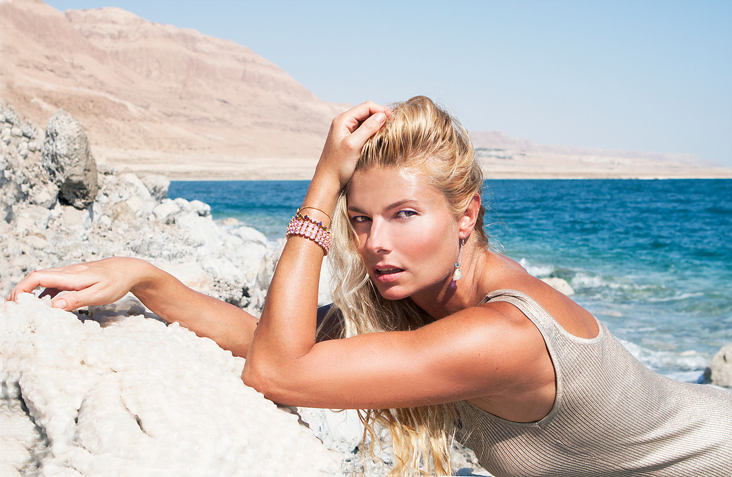 Dead Sea, Israel. Campaign for Swarovski.