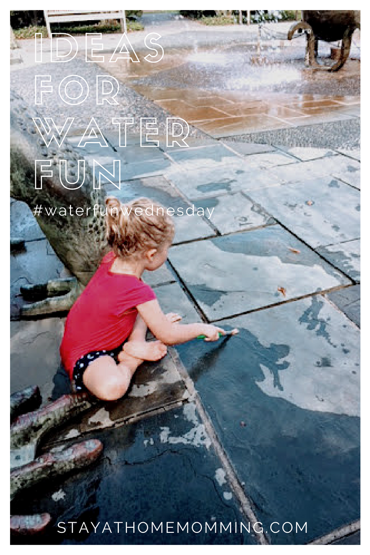 Ideas for Water Fun-Ideas for Stay At Home Water Fun--Every SAHM needs a water fun list for Summer
