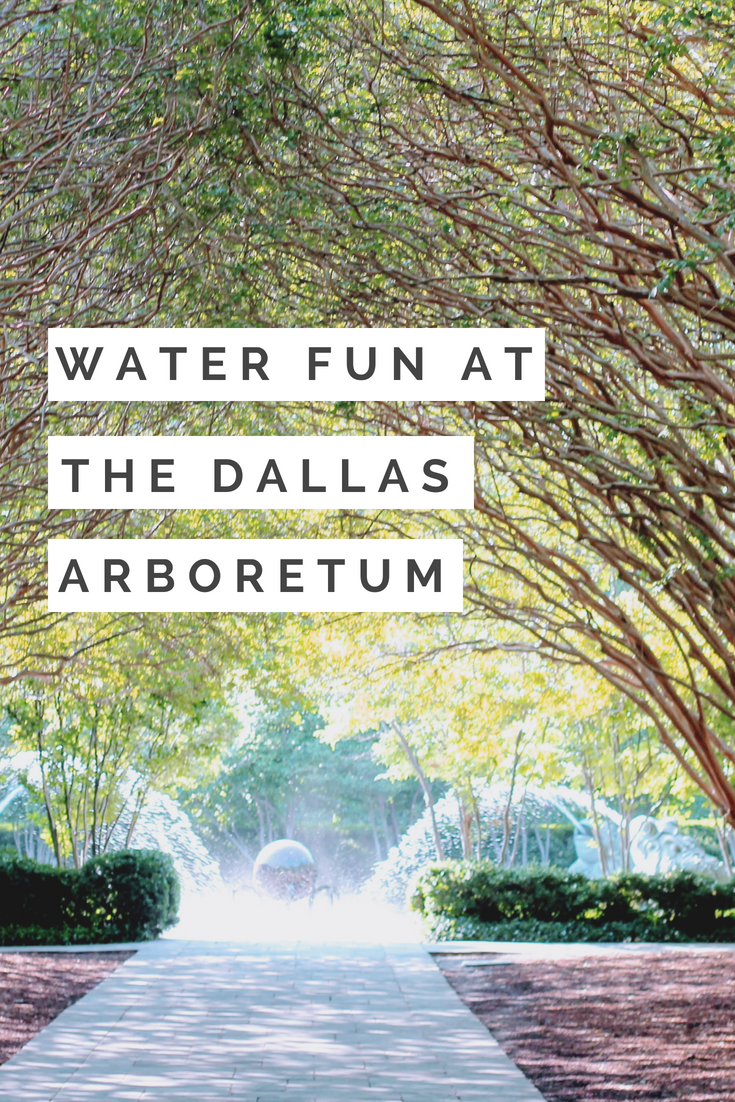 The Dallas Arboretum | Dallas, TX | Water Activities for kids | Rory Meyer's Children's Adventure Garden | Things to do in Dallas with kids