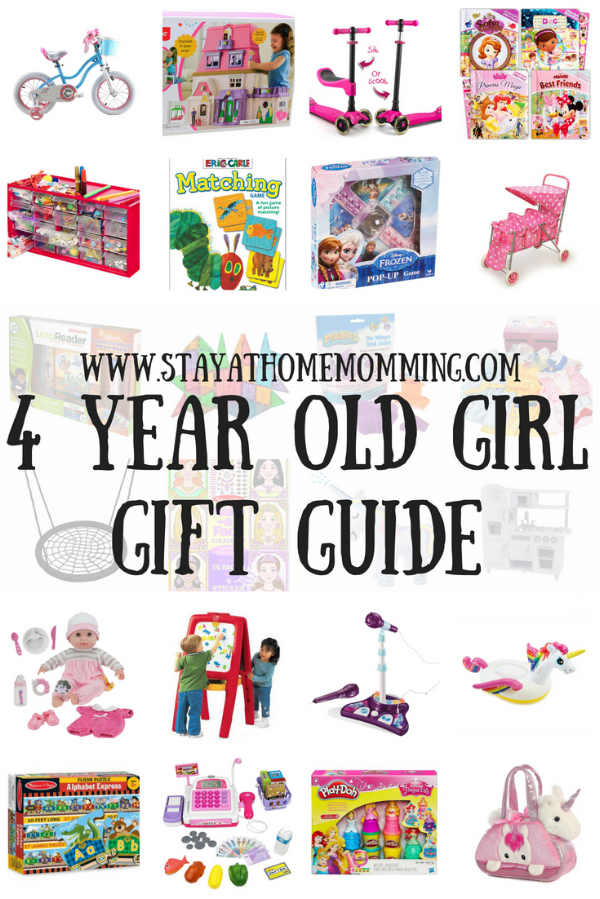 4 Year Old Girl Gift Guide-Gift Ideas for a Four Year Old Girl- Stay At Home Momming