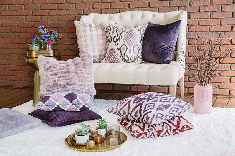 Throws - Equal parts cozy and chic. A throw is the essential finishing touch you'll reach for again and again whether cozying up with your favorite book or adding decorative warmth to your room.