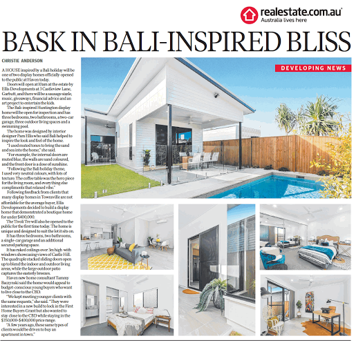 baskinbaliinspiredbliss_Townsville Bulletin Saturday June 16 2018.png
