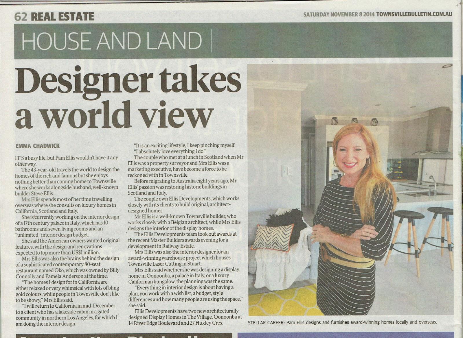 Designer takes a world view_PamEllisInternational 8 November 2014.jpg