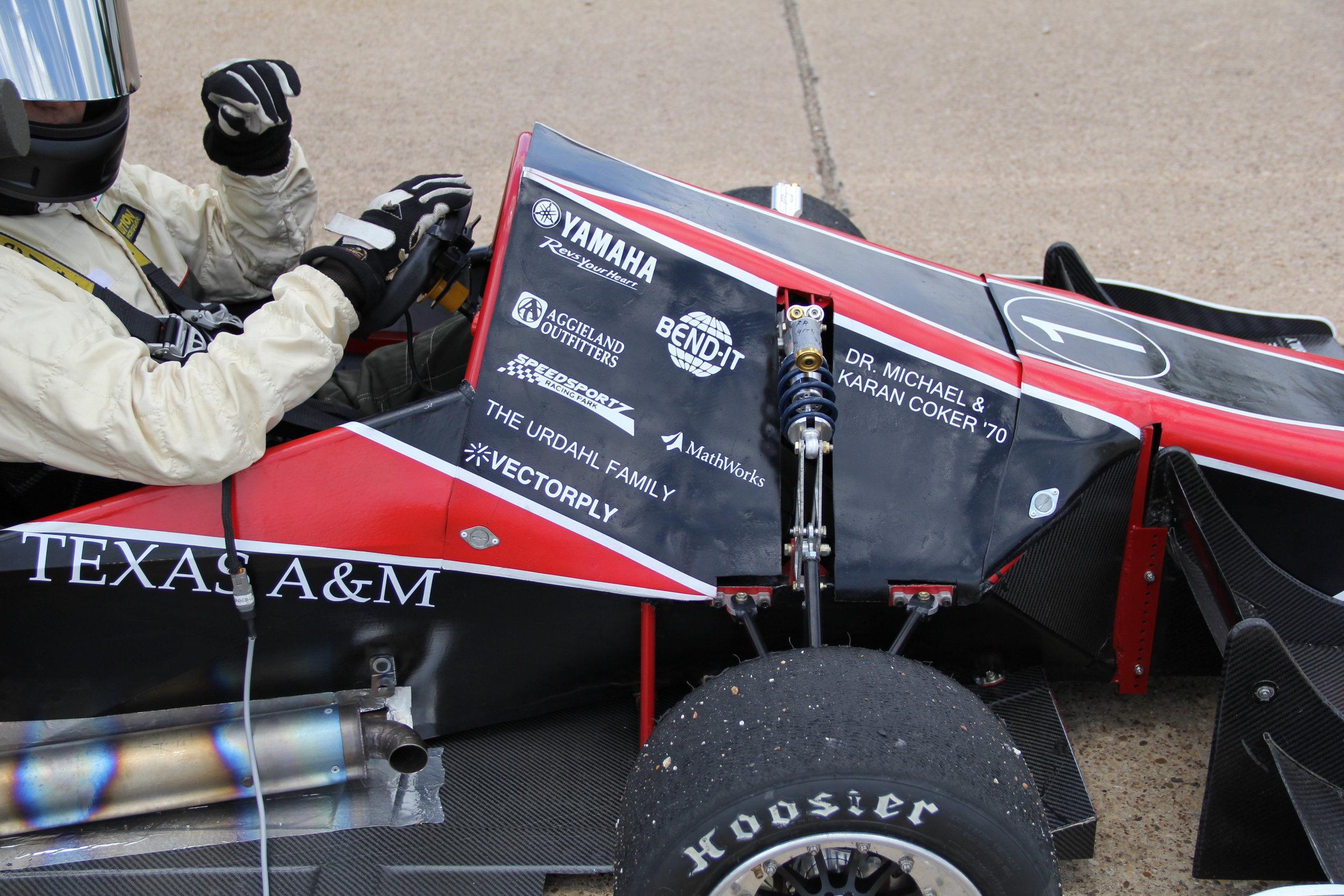 About Formula Senior Design — TAMU Society of Automotive