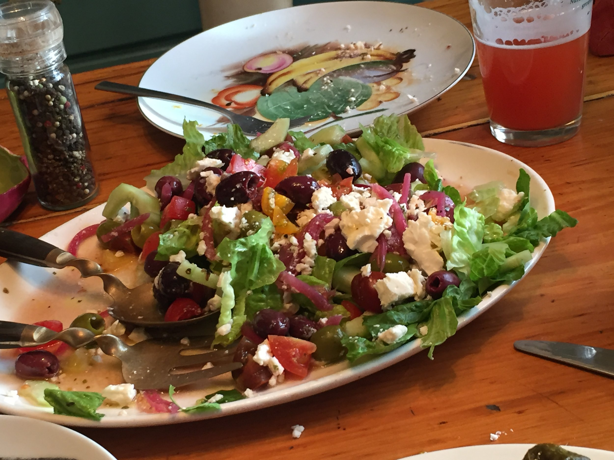 Photo Credit: Carly J. Turner - This salad is full of flavor!