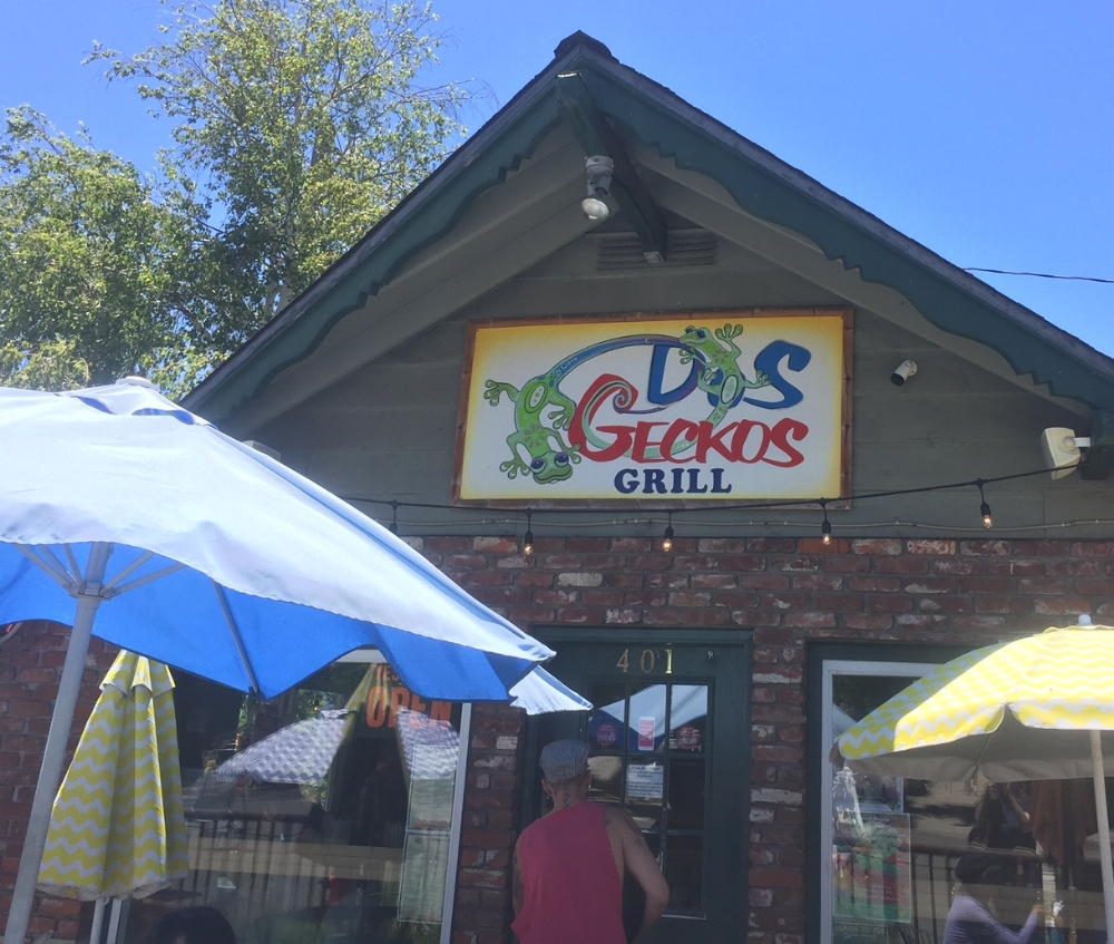 Dos Geckos  is located in heart of downtown Mount Shasta.