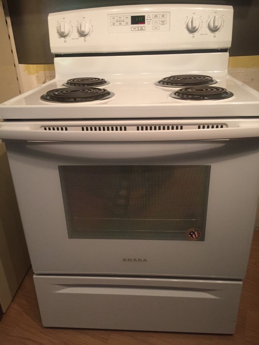 My new stove! It's an Amana!