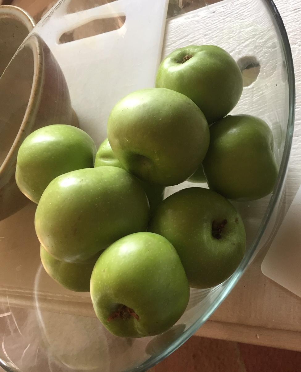 Crisp Green Apples